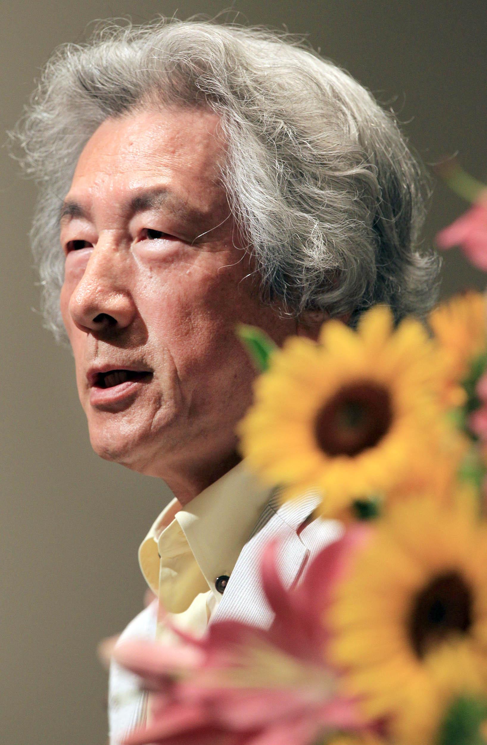 小泉純一郎氏